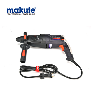 China makute OEM rotary 26mm 32mm 65mm jack hand heavy duty electric HD001 hammer drill