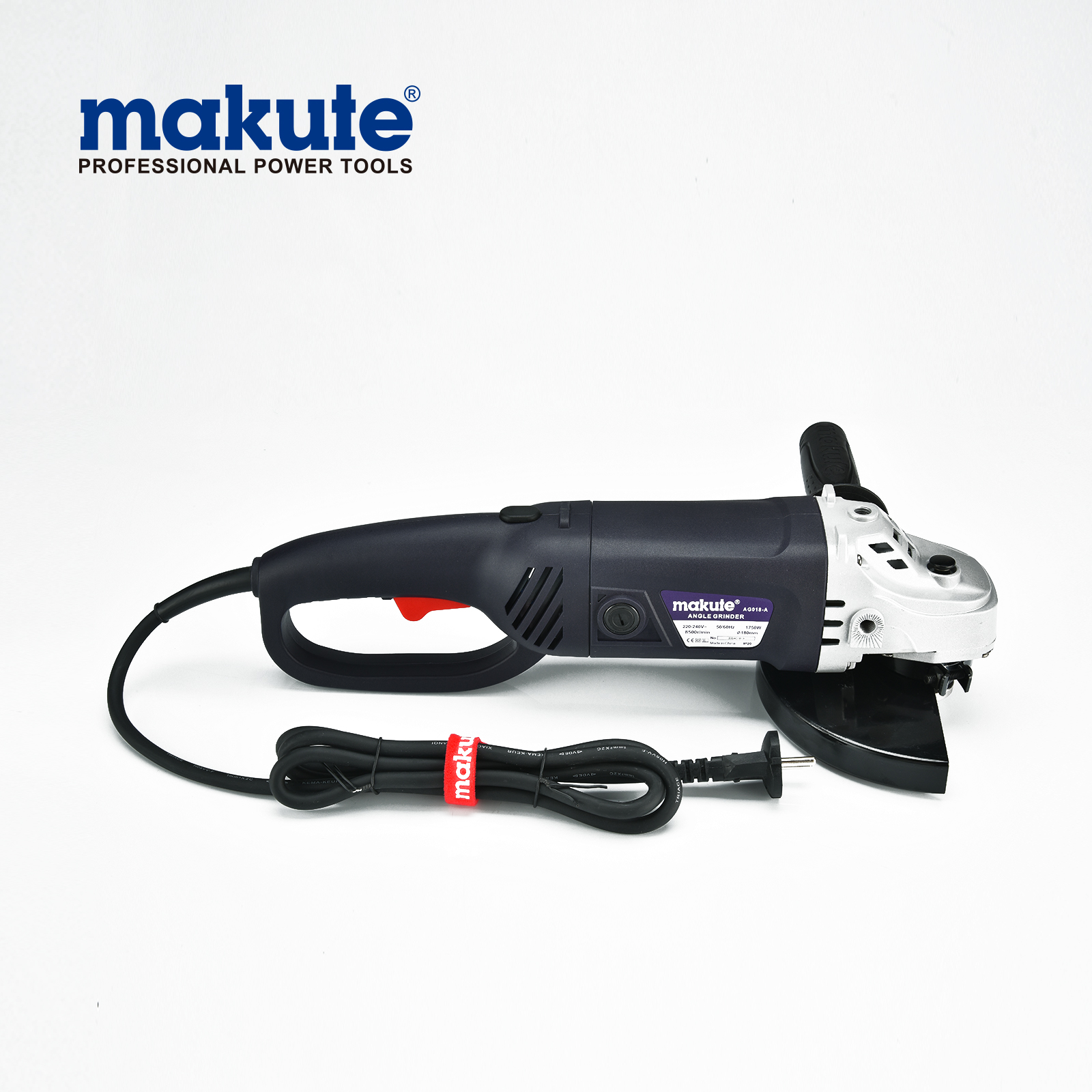 china makute power tool 9 inch 180m AG018-A high quality electric angle grinder