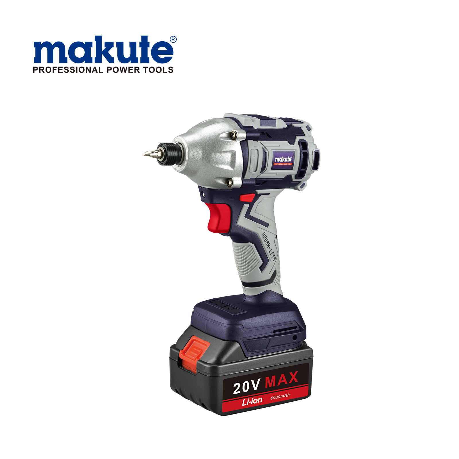 Makute Lithium automatic rechargeable portable cordless screwdriver 20V battery screwdriver