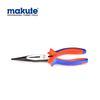 "High Carbon Steel 8 inch Multi-function Long nose pliers 8""/200mm with TPR handle Needle Cutting Pliers"