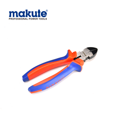 "Diagonal cutting pliers 6""/160mm with TPR handle cutting pliers function and uses"
