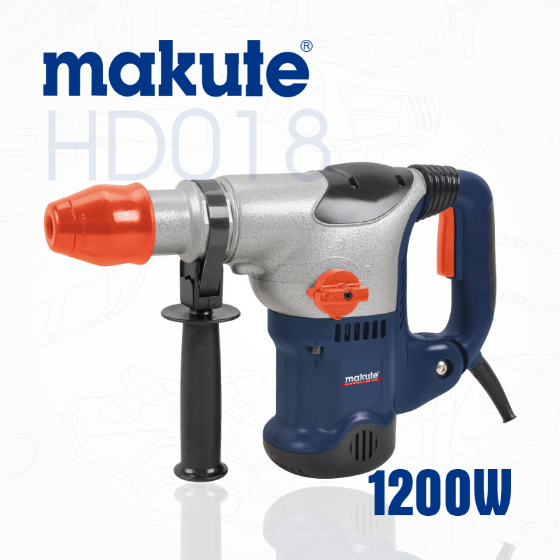 makute China OEM rotary 38mm power machine electric HD018 rotary hammer