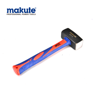 MK121110 manufacturer Professional Carbon Steel Stoning Strong Hammer With Long Flbreglass Handle hammer set