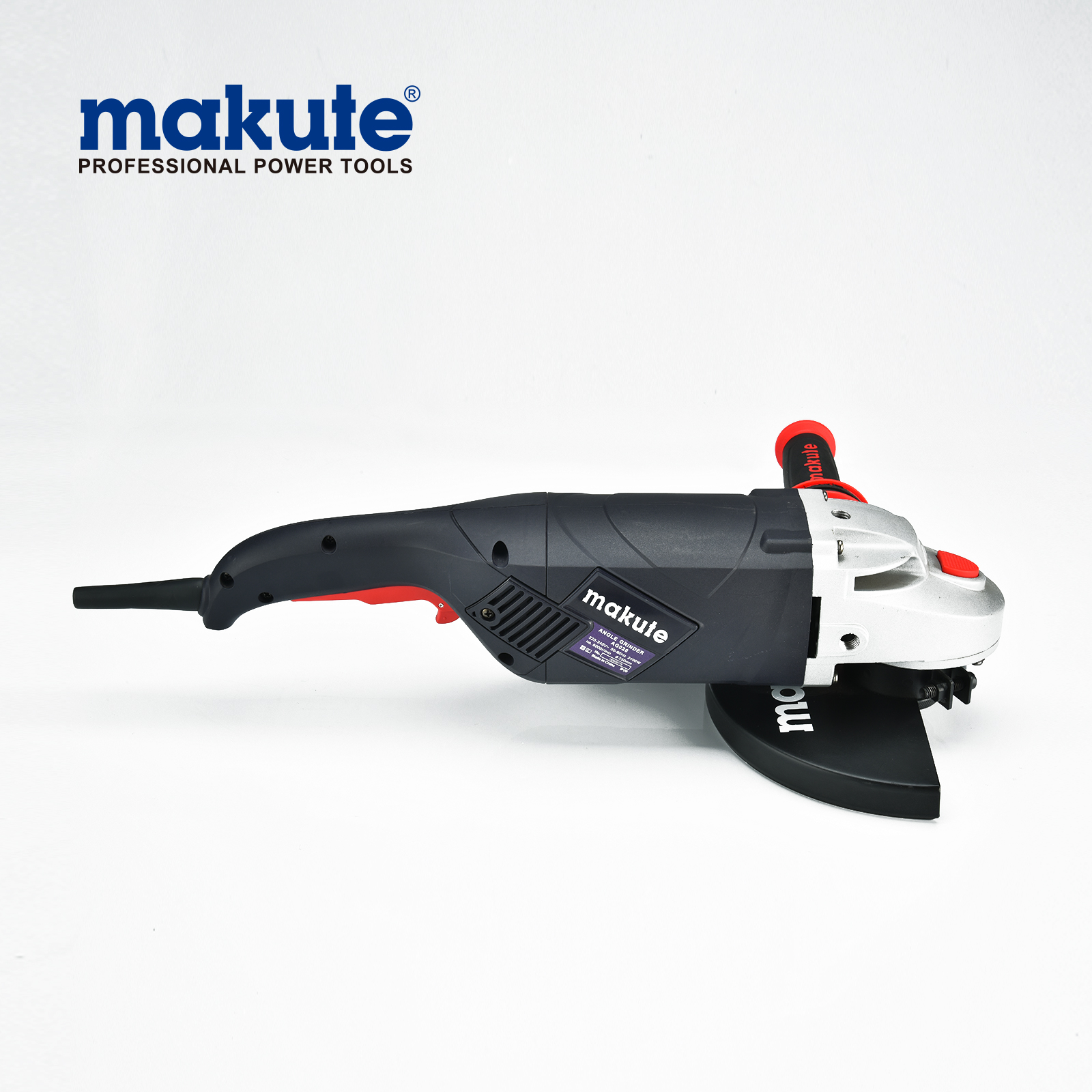 MAKUTE AG026 2400W 230mm high quality 801 electric angle grinder with soft-start angle grinder